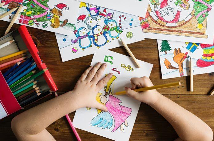 Cum să înveți copilașul culorile