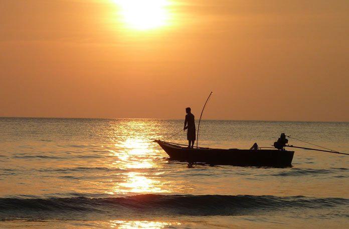 cum sa pescuiesti in barca